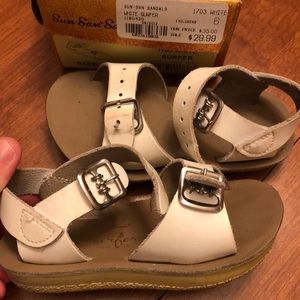 Other - Toddler size 6 sun-San salt water sandals white